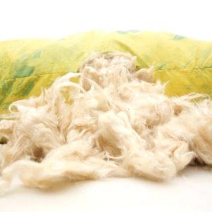 Imbottitura in kapok fibra vegetale, antibatterico, antimuffa.