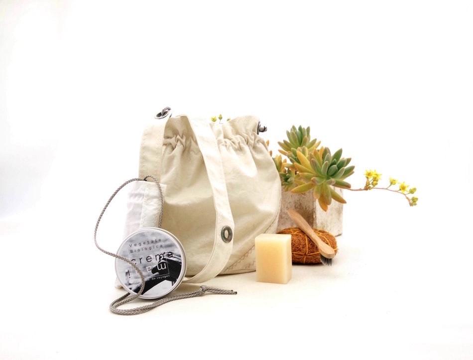 Beauty case ma anche borsetta con tracolla
