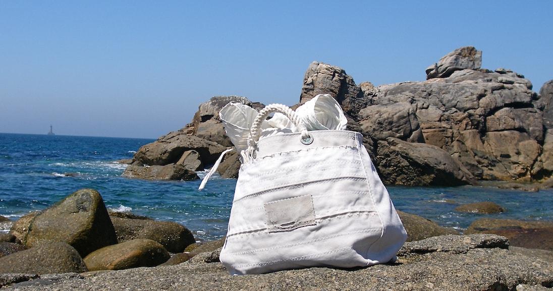Borse in vela riciclata made in Italy