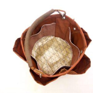 Tasche e fondo rinforzato in vela di kevalr