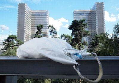 Le borse da città in vela riciclata sono durevoli, uniche, ed ECO-Friendly