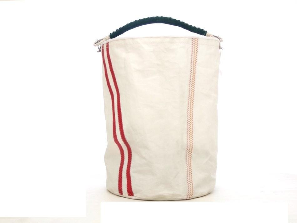 Grande sacca in vela con manico a spalla